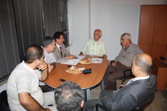 Mersin Sebze Meyve Hal Yönetimiyle Toplantı