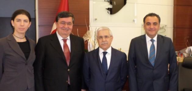 Çevre Komitesi Olarak,T.C. Çevre ve Şehircilik Bakanlığı Müsteşarımız Prof.Dr.Mustafa ÖZTÜRK  Ziyaret Edildi.