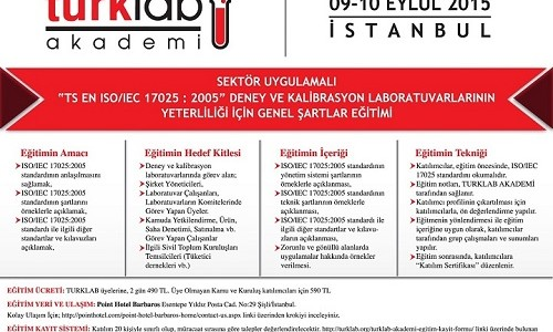 TURKLAB Akademi Eğitimleri Devam Ediyor…