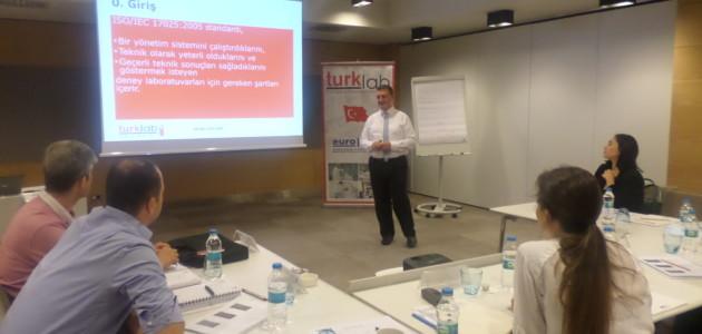 TURKLAB Akademi ISO /IEC 17025 Eğitimi Gerçekleştirildi.