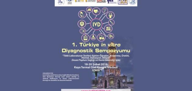 IVD İZMİR 2016 – Türkiye in vitro Diyagnostik Sempozyumu