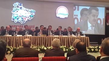 Marmara Bölgesi Bölgesel Bakanlık Koordinasyon ve Sektörel Ortak Akıl Toplantısı