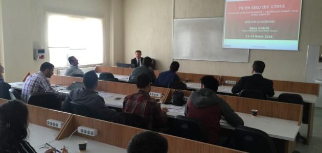 """TURKLAB Akademi """"ISO /IEC 17043 Yeterlilik Deneyi için Genel Şartlar""""Eğitimi"""