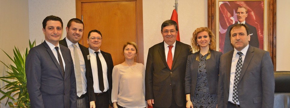 İstanbul İl Gıda Tarım ve Hayvancılık Müdürlüğü ziyaret edildi. 15 Şubat 2017